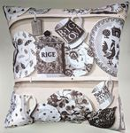 "Cushion Cover in Emma Bridgewater The Dresser Blush 14"" 16"" 18"" 20"""
